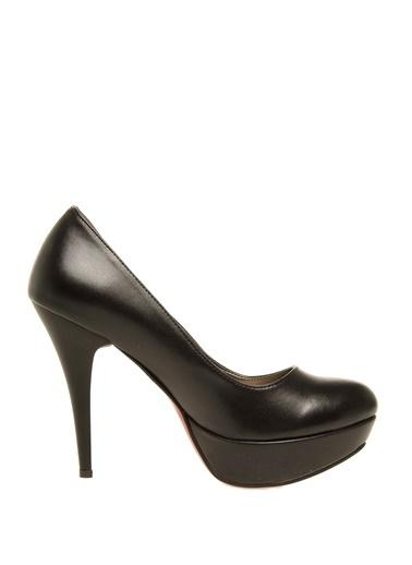 Casa Rossi Casa Rossi Siyah Platformlu  Topuklu Ayakkabı Siyah